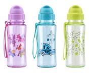 culinario Kinder Trinkflasche kid'S Fun, Tritan®, 460 ml, Farbe wählbar