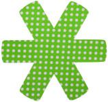 culinario 3er Set Pfannenschutz 38 x 38 cm, Stapelhilfe und Kratzschutz für Pfannen, grün