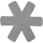 Steuber 3-tlg Pfannenschutz grau, 100% Polyester, beschichtungs-Schutz, schützt Pfannen vor dem Verkratzen, Kratzschutz
