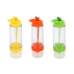 culinario Trinkflasche Fruit, BPA-frei, 650 ml Inhalt, in verschiedenen Farben erhältlich