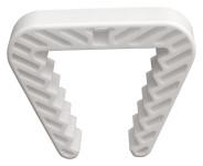 Danto® Fensterklammer, Fensterstopper für Rahmenstärke 3,0 bis 5,0 cm, weiß