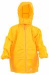 DryKids Wasserdichte Regenjacke für Kinder von 11 bis 12 Jahren, verschweißte Nähe, reflektierende Regenkleidung, gelb