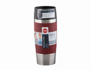 EMSA Isolierbecher Travel Mug 0,36 Liter, rot