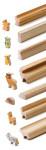 Erzi 7tlg. Bastelleisten Waldtiere aus Buchenholz, 45 x 11 x 60 cm