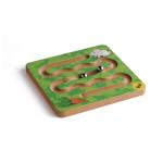 Erzi Balancierspiel Hase, Holzspielzeug, Lernspielzeug für Motorik, Geschicklichkeit, Hand-Auge-Koordination