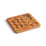 Erzi Balancierspiel Honigbär, Holzspielzeug, Lernspielzeug für Motorik, Geschicklichkeit, Hand-Auge-Koordination