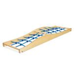 Erzi Balancierwelle Netz, 204 x 56,6 x 18 cm, aus Birkensperrholz