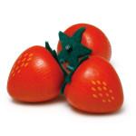 Erzi Erdbeere, Spielzeug-Erdbeeren, Holzerdbeeren, Kaufladenzubehör