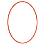 Erzi Gymnastikreifen, rot, Hula-Hoop-Reifen