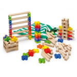Erzi Kreuzsteinspiel, Lernspiel, Kinderspiel, Konstruktionsspiel