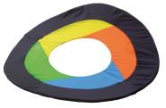 Erzi Nylon-Flugring mit Tragetasche, Riesen-Frisbee, Wurfspiel