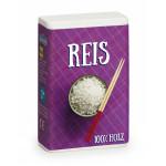 Erzi Reis, Reispackung aus Buchenholz, Maße  4,5 x 2,5 x 7 cm, ab 3 Jahren