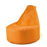 Erzi Sitzsack Outdoor, orange, wetterfester, robuster Sitzsack aus Polyester, Maße 55 x 70 x 60 cm, ab 3 Jahren