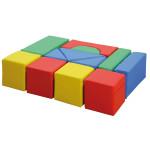 Erzi Softbausteine Maxi, Konstruktionsspiel, Wurfspiel