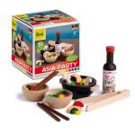 Erzi Sortierung Asia-Party Set, Spielzeug-Sushi, Holz-Spielzeug, Kaufladen-Zubehör