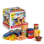 Erzi Sortierung Kinderparty, Buchenholzspielset mit allem was zu einer Kinderparty gehört, ab 3 Jahren