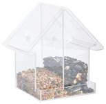 Esschert Design Acryl Vogelhäuschen H aus PMMA und PVC, 14,7 x 10,0 x 15,0 cm