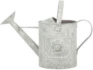 Esschert Design AM Löwe Gießkanne, 43,2 x 22,8 x 26 cm, aus Aged Metall, antikes Metall, mit Tragegriff, in grau