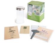 Esschert Design Aromatisierter Zucker Set, Samen, Zuckerdose, Zucker selbst aromatisieren