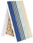 Esschert Design Bienenhaus, Insektenhaus, bunt bedruckt, ca. 15 cm x 12 cm x 20 cm