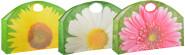 Esschert Design Big Shopper mit Griffen, verschiedene Blumen Motive, Design sortiert, 59 x 15,5 x 40,4 cm, aus Polyester, für die große Shopping-Tour