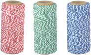 Esschert Design Bindfaden, 4,8 x 4,8 x 10,8 cm, farbig sortiert, rot/grün/blau