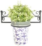 Esschert Design Blumentopfhänger für 1 Topf, 28,3 x 15,1 x 12,8 cm