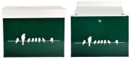 Esschert Design Briefkasten Vögel auf Draht, 44 x 19 x 36 cm