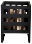 Esschert Design Feuerkorb, Feuerstelle, rechteckig in schwarz, verschiedene Größen