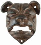 """Esschert Design Flaschenöffner """"Bulldogge"""", aus dem Material """"Gusseisen"""", 7,5 x 5,1 x 8,9 cm"""
