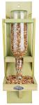 2 Stück Esschert Design Futterflasche, Vogelfutterspender mit Glasflasche, fest montierbar, ca. 13 cm x 16 cm x 44 cm
