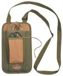 Esschert Design Garnspendertasche, Tasche für Garn und Schere, ca. 16 cm x 7,5 cm x 30 cm
