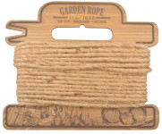 Esschert Design Gartenseil, Gartenschnur, auf dekorativer Holzspule