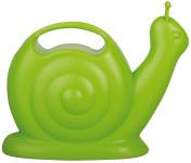 Esschert Design Gießkanne, Wasserkanne Motiv Schnecke in grün, ca. 26 cm x 11 cm x 22 cm