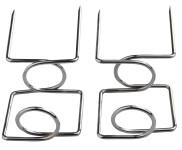 Esschert Design Grillspieß-Aufsatz 2er-Set, ca. 5,7 cm x 3,6 cm x 11 cm