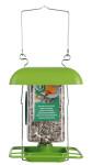 2 Stück Esschert Design Halterung mit Dach für FB153 PET-Vogelfutter-Flasche, zum Aufhängen
