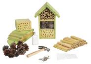 Esschert Design Insektenhotel für Kinder, zum selber bauen, 19 x 14 x 27 cm