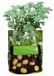 Esschert Design Kartoffelpflanztasche m. Sichtfenster und Motiv, 34 x 34 x 45 cm
