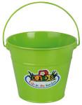 Esschert Design Kindereimer, Garteneimer für Kinder mit Henkel in grün, ca. 21 cm x 19 cm x 16 cm