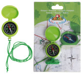 Esschert Design Kinderkompass, Kompass für Kinder, ca. 4,7 cm x 1,7 cm x 5,7 cm