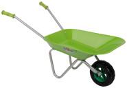 Esschert Design Kinderschubkarre, Schubkarre für Kinder, Gartenkarre, Kinderkarre, Farbe: grün, Maße: ca. 76 x 40 x 43 cm