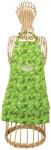 Esschert Design Kinderschürze Camouflage Muster, 36 x 0,5 x 57 cm, aus Stoff, mit Umhänge-Schlaufe, in grün