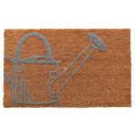 Esschert Design Kokosmatte Giesskanne aus Kokosfaser/Kunststoff, 60 x 40 x 1,5 cm, Fußabstreifer, Fußabstreifer, Schuhabstreifer, Schuhmatte