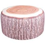 Esschert Design Outdoor Sitzkissen Baumstamm aus Polyester und PVC,58,0 x 58,0 x 32,5 cm