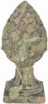 """Esschert Design Pfeilerschmuck """"Zapfen"""", in der Größe S, aus dem Material """"Terracotta"""", 14,0 x 14,0 x 30,0 cm"""