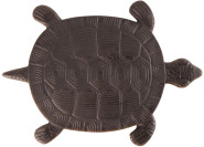 Esschert Design Gehwegplatte, Gartenplatte, Trittplatte, Terrassenplatte Motiv Schildkröte, ca. 32 cm x 23 cm x 1,8 cm