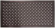 Esschert Design Schmutzfangmatte, Fußmatte Motiv geflochten aus Gummi, rechteckig, Größe XL, ca. 122 cm x 61 cm