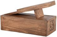 Esschert Design Schuhputzset mit verschiedenen Brüsten, fein/grob, 14,7 x 29,4 x 18 cm, Schuhlöffel, Poliertuch, Fußstütze, in klassischer Optik