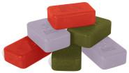 Esschert Design Seifenblock, exklusive Seife mit schöner Gravur, Seife, Wellness, 1 Stück, sortiert