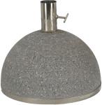 """Esschert Design Sonnenschirmständer, Sonnenschirmfuß """"granito"""" in schwarz, 31,5 kg, Ø Rohr innen: 5,1 cm, Fuß Ø ca. 36 cm"""
